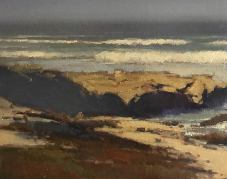 Asilomar Coast, by Brian Blood