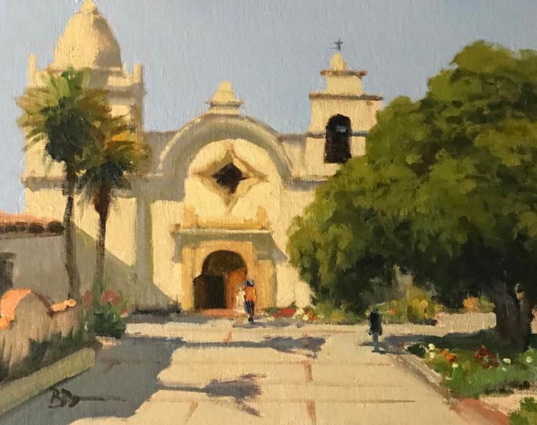 Carmel Mission, by Brian Blood