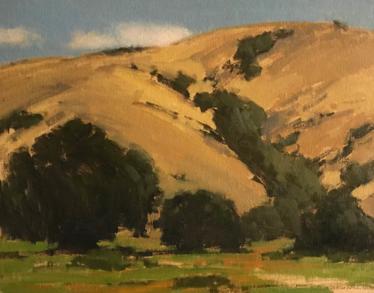Meadow at Toro Park, by Brian Blood