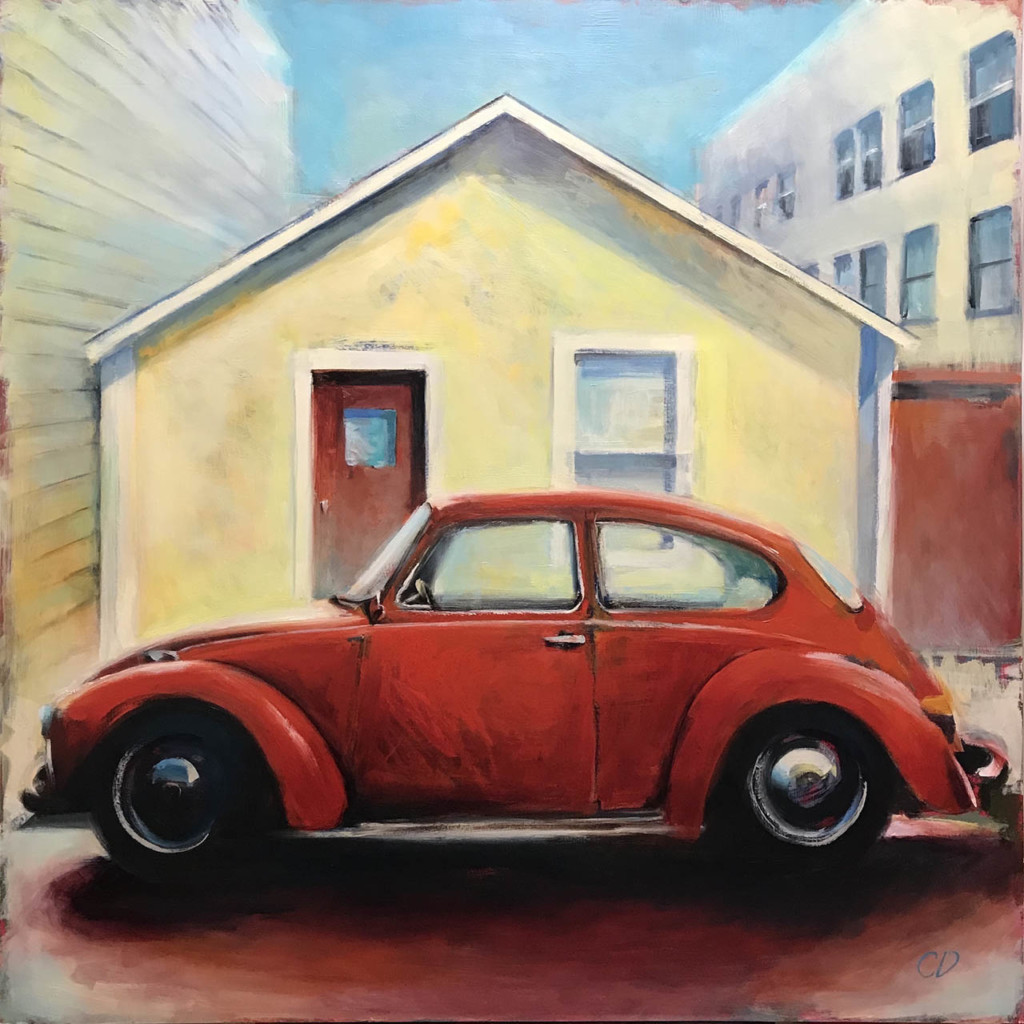 Orange Bug, by Cara Deringer