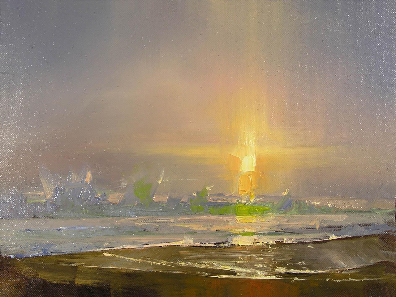 Baja Sunset, by Carol Tarzier