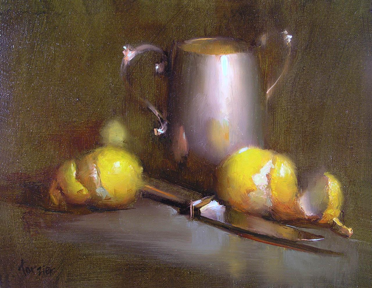 Lemons with Silver, by Carol Tarzier
