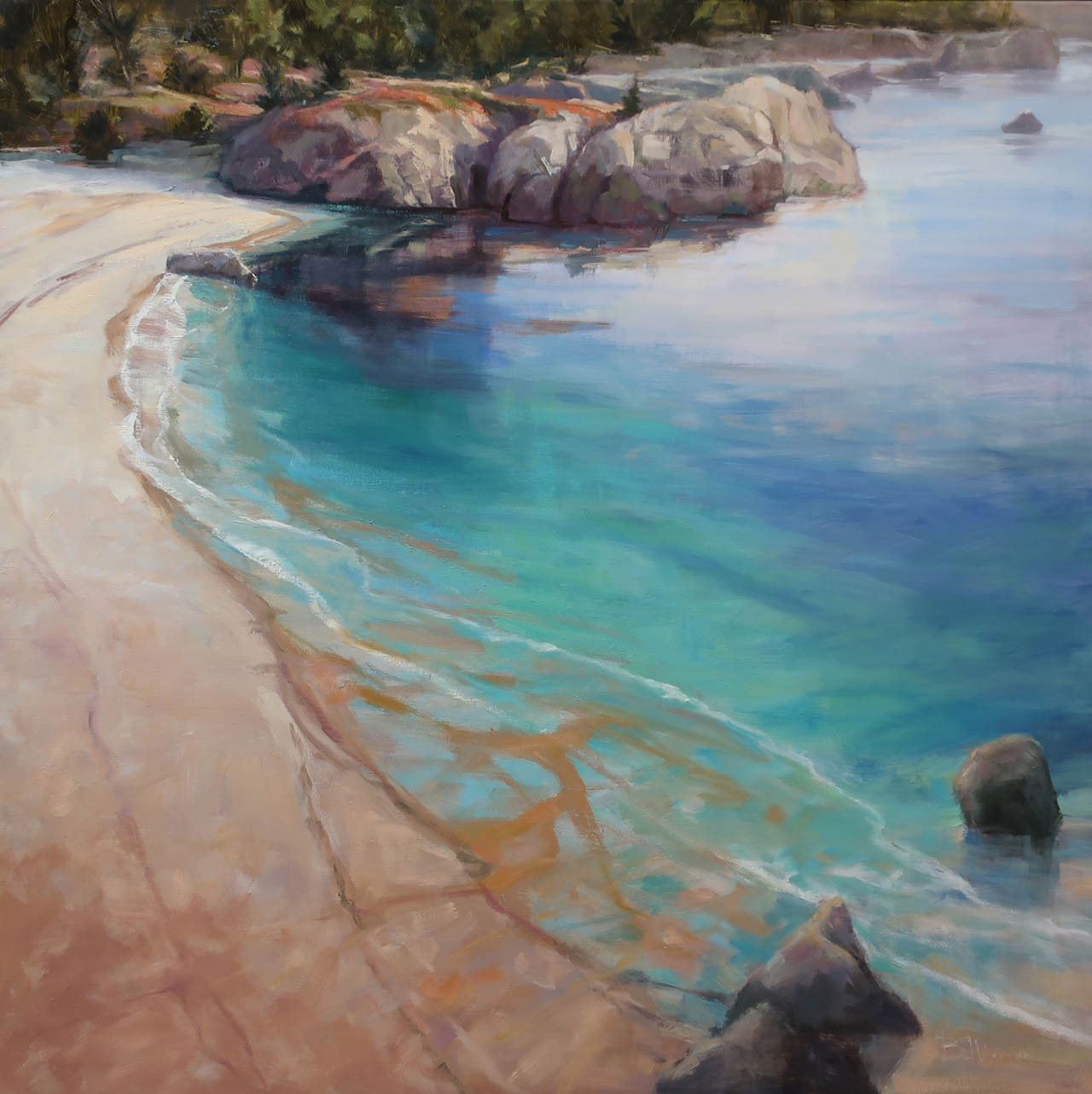 Gibson Beach Revisited, by Carole Belliveau