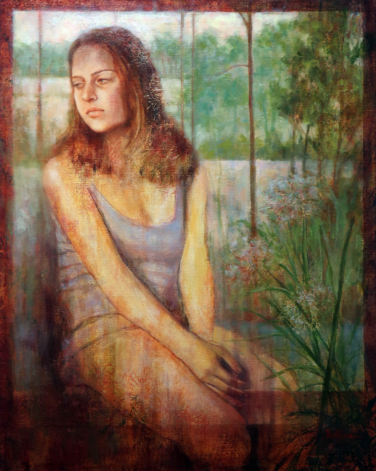 Pensive, by Carole Belliveau