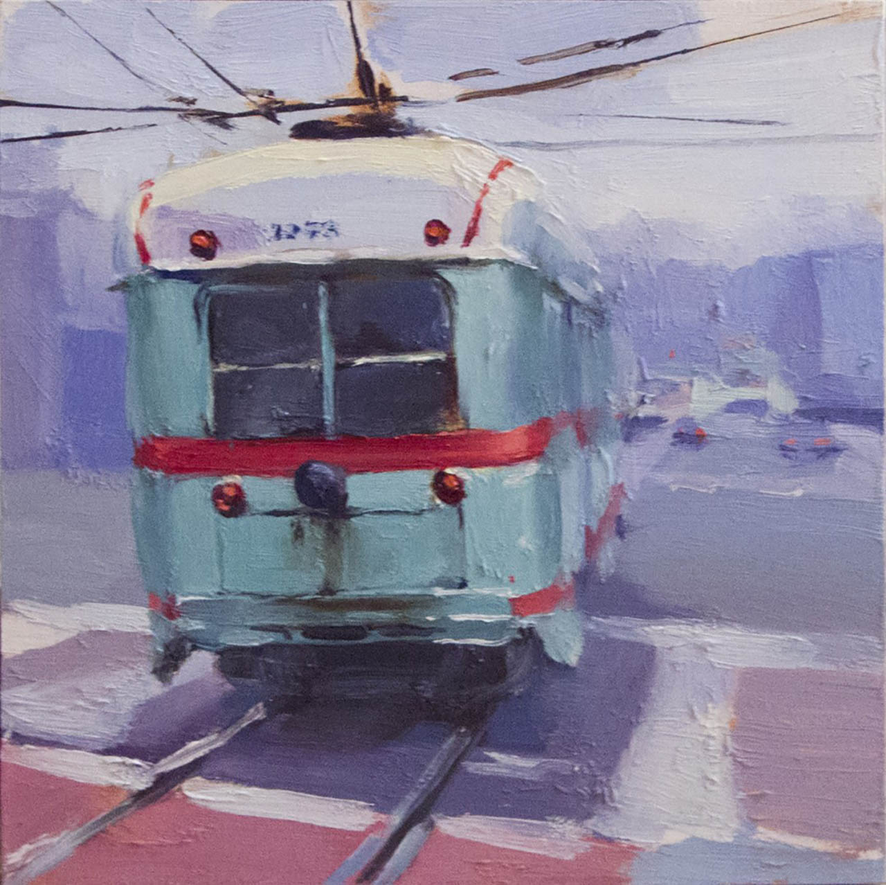 Muni at Van Ness Ave, by Hsing-Yu Chen