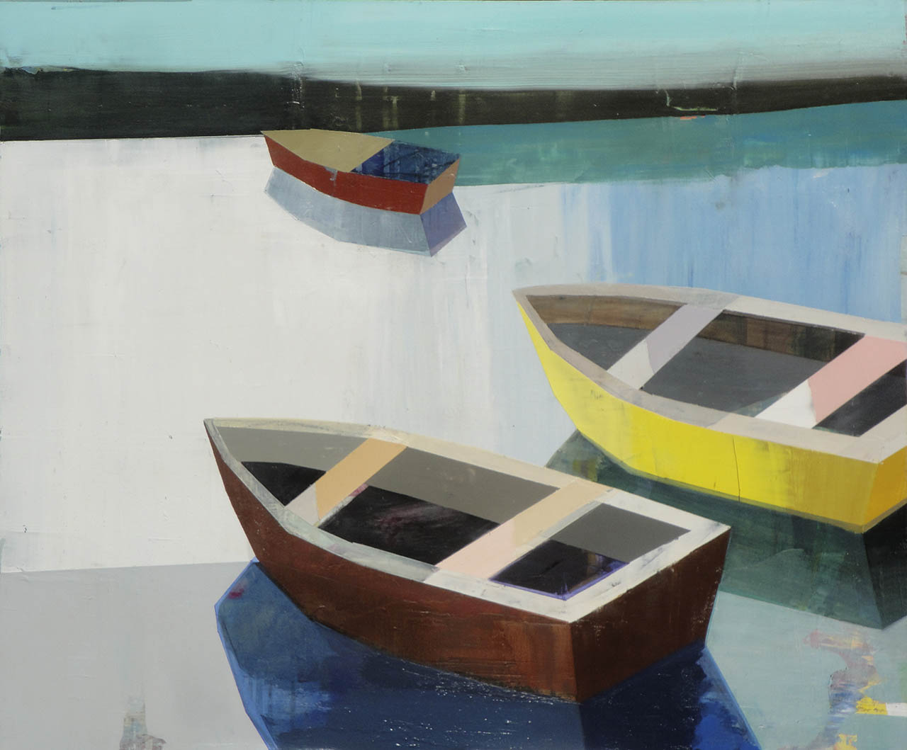 Boats in the Shallow Water, by Siddharth Parasnis