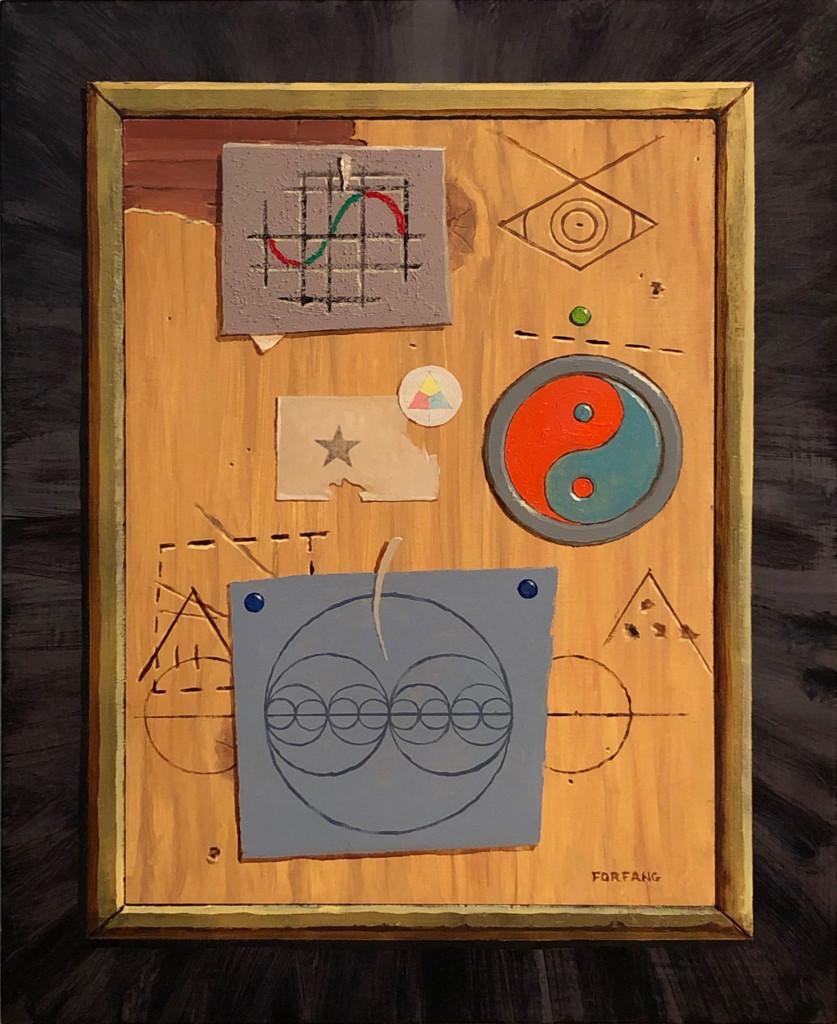 """Meta Painting 3"" by Adam Forfang"