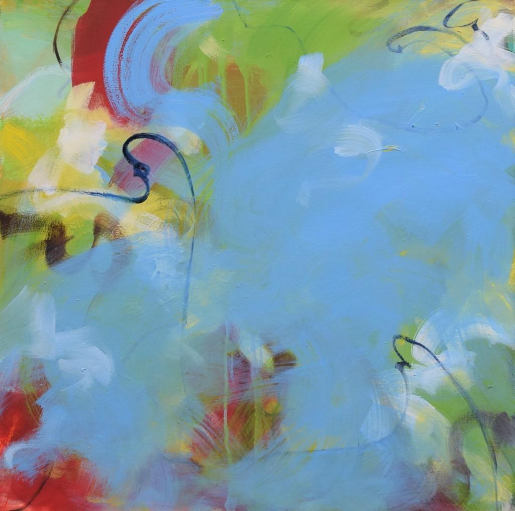 """Green Drip"" by Ayesha Samdani"