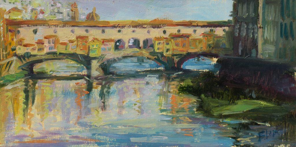 """Ponte Vecchio"" by Beverly Lazor"