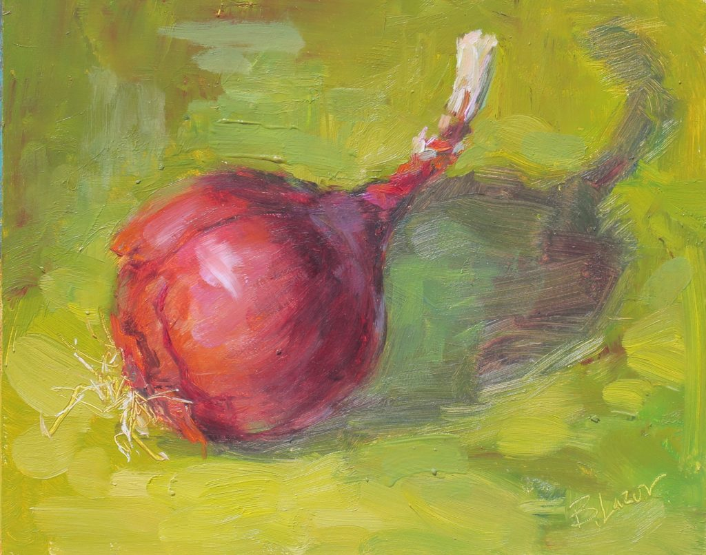 """""""The Onion Stands Alone"""" by Beverly Lazor"""
