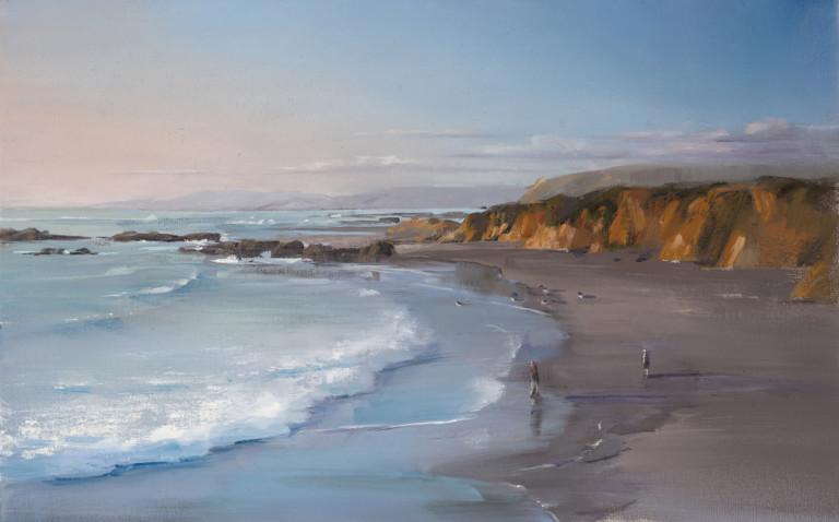 Evening Light & Pescadero Cliffs