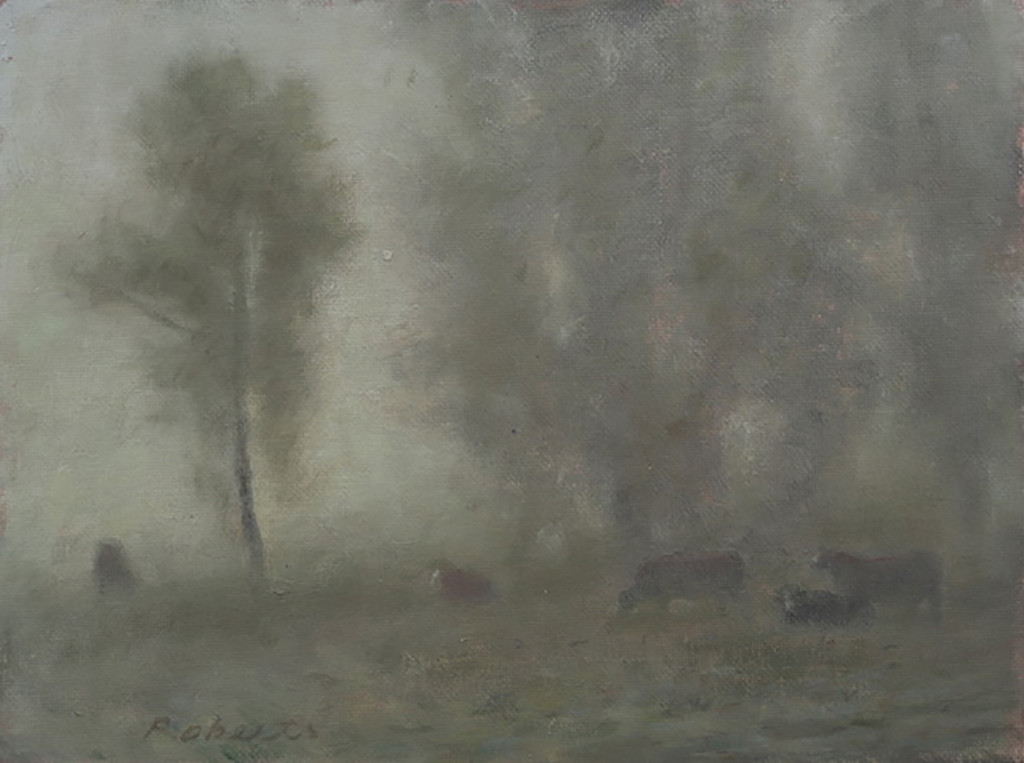 """Misty Morning Study"" by Mark Roberts"