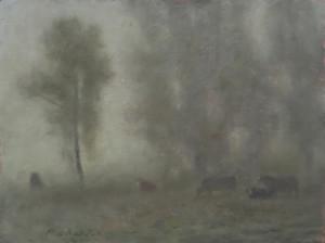 """Misty Morning Study"" by Mark Roberts"