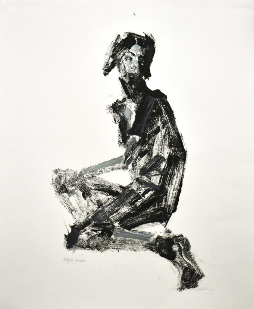 """""""Study for Figure #3"""" by Mijin Kwon"""