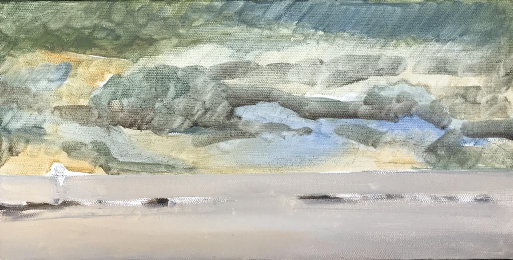 """""""Landscape Study 1"""" by Olena Baranova"""