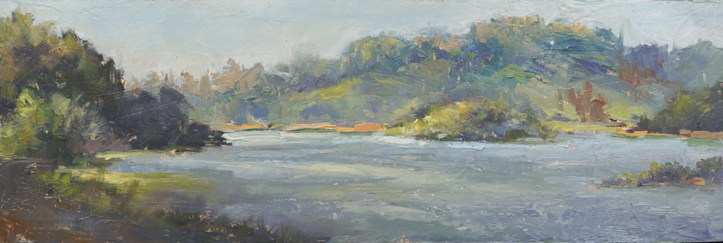 """Lake Chabot"" by Sean Hsiao"