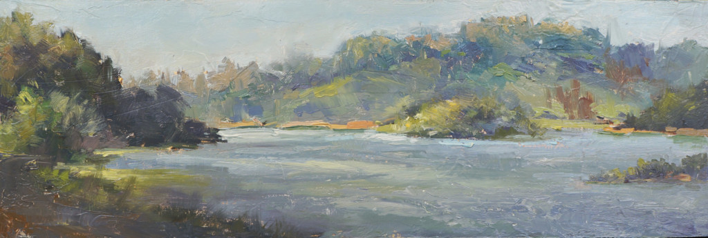 """""""Lake Chabot"""" by Sean Hsiao"""