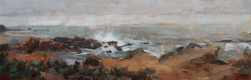 """Pescadero Beach"" by Sean Hsiao"